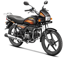 Splendor+ IBS i3s 100cc motorcycle