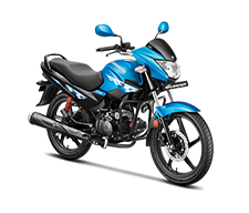 New Glamour 125cc motorcycle