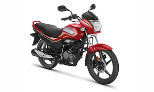 Super Splendor BS6 Candy Blazing Red