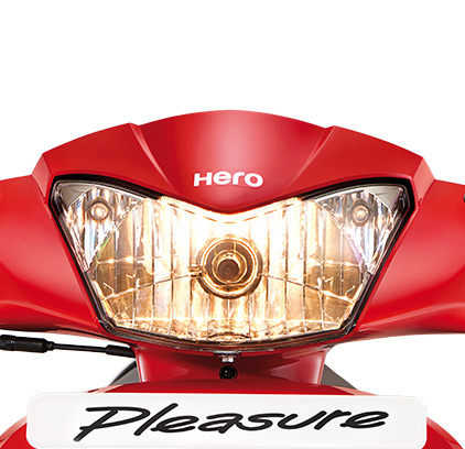 Hero Pleasure Scooter For Girls Light Weight Scooty For Ladies