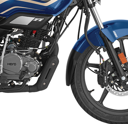 Super Splendor BS6 - 180 mm Ground Clearance for All-Road Comfort
