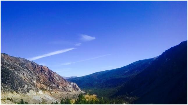 Riding to Yosemite National Park