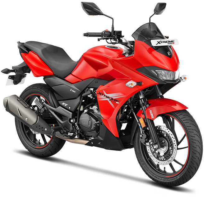 Xtreme 200s in Red Colour