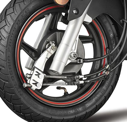 Integrated Braking System and Tubeless Tyres