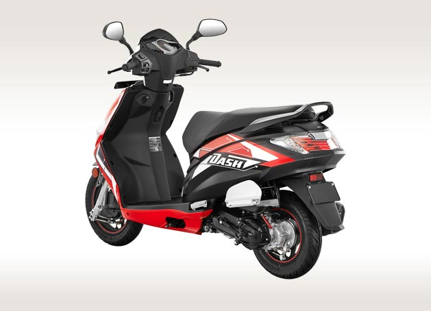 Hero Dash Scooter, Colours and Specifications - Hero