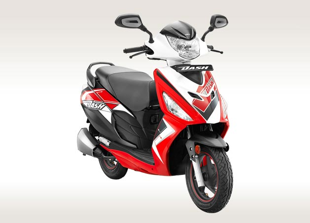 Hero Dash Scooter, Colours and Specifications - Hero MotoCorp Ltd